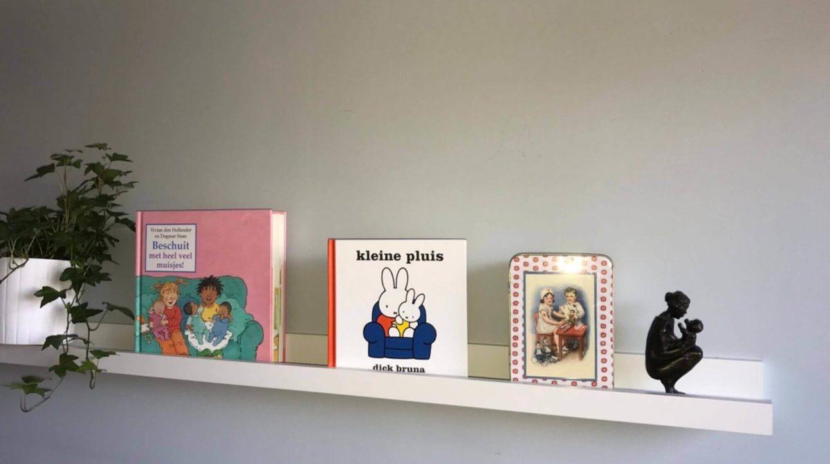 boekenplank met kinderboeken
