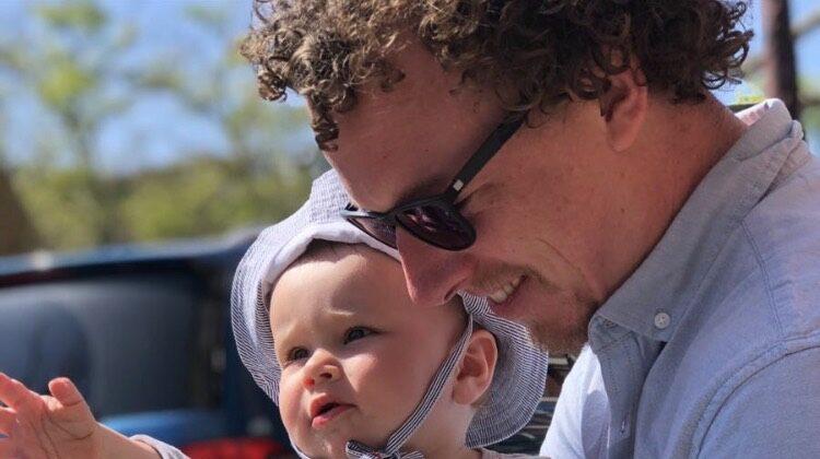 vader en baby